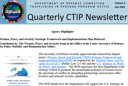 CTIP Quarterly Newsletter