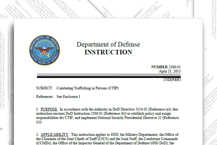 DoD Instruction 2200.01