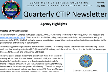 CTIP Quarterly Newsletter